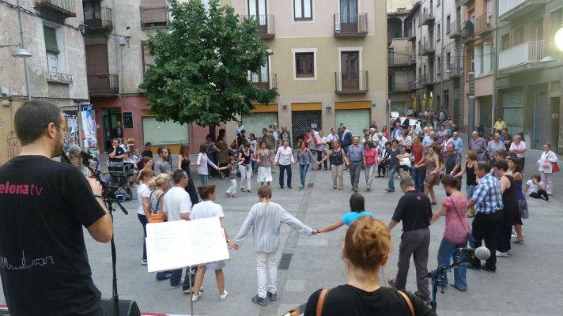 Ofolk-Ball a la plaça