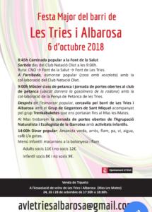PUNT DE TROBADA /INSCRIPCIONS /INFORMACIÓ BANC DELS TEMPS DE LA GARROTXA